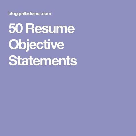 Sales objective in resume examples